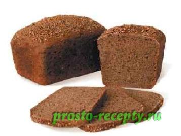 Рецепт дарницкий хлеба для хлебопечки