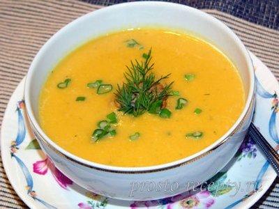 Тыквенный суп пюре рецепты кабачок