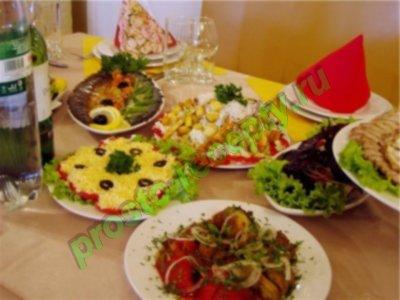 Простые салаты и закуски к праздничному столу