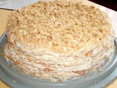 Торт Наполеон классический.